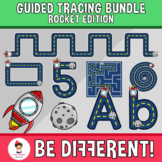 Guided Tracing Bundle Clipart - Rocket Edition