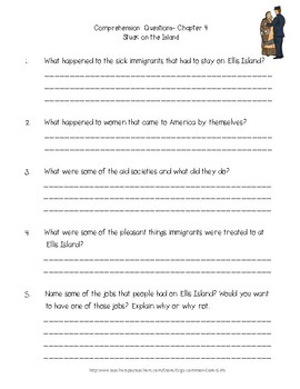 Guided: What Was Ellis Island? Common Core, No Prep, Printables