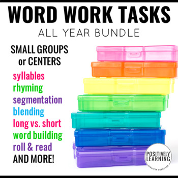 Guided Word Work for Small Groups and Centers