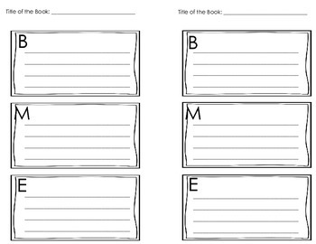 Guided Writing Graphic Organizers and Booklets {Half-Pages}
