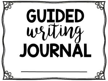 Guided Writing Journal FREEBIE