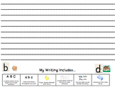 Guided Writing Templates {Guided Reading}