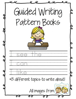 Guided Writing Pattern Prompts for Emerging Writers