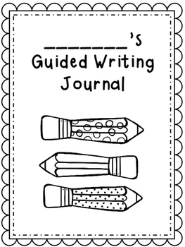 Guided Writing Response Journal