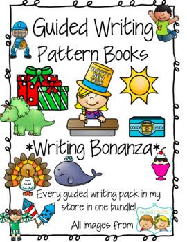 Guided Writing - Writing Bonanza *BUNDLE* Pattern Prompts