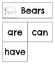 Guided Writing with Bears