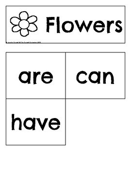 Guided Writing with Flowers