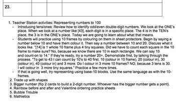 Guided math checklists & stations: ODD/ EVEN, number sense