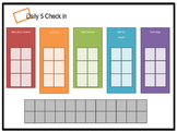 Guided math group rotations chart