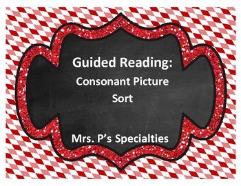 Guided reading: Consonant sort