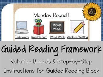 Guided Reading Kindergarten Framework
