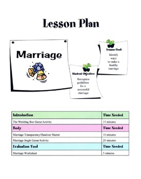 Guidelines For A Successful Marriage Lesson