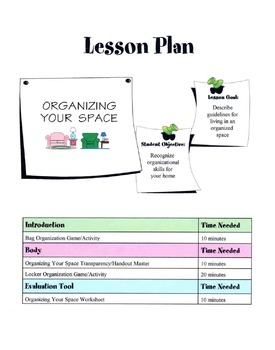 Guidelines For Living In An Organized Home Lesson