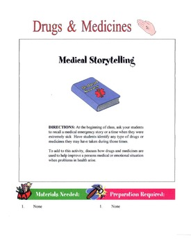Guidelines For Taking Drugs & Medicines Lesson
