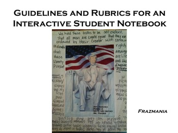 Guidelines and Rubrics for an Interactive Student Notebook