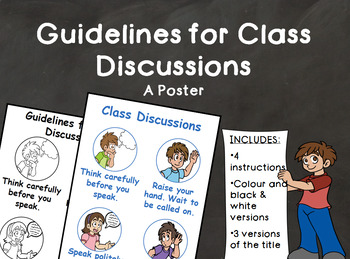 Guidelines for Class Discussions