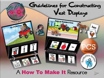 Guidelines for Constructing Vest Displays - How to Make It Resource - PCS