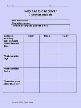 Literary Analysis Guidelines and Resources