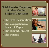 Guidelines for Preparing Student/Senior Projects/Capstones