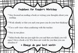 Guidelines for Reader's Workshop