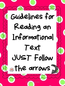 Guidelines for Reading an Informational Text Just Follow t