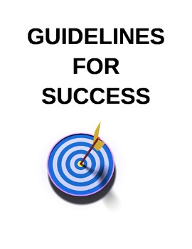 Guidelines for Success Poster