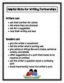 Guidelines for Writing Partnerships