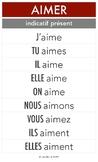 Guides de conjugaison - Affiches