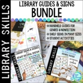 Library Skills Guides for the School Library Media Center BUNDLE