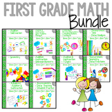 First Grade Math Bundle