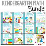 Kindergarten Math : COMPLETE BUNDLE ALL ELEVEN UNITS