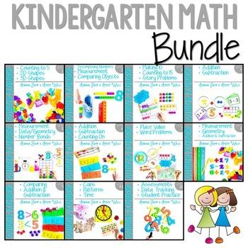 Kindergarten Math : COMPLETE BUNDLE ALL ELEVEN UNITS