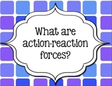 Guiding Questions for Science Unit on Newtons Laws of Motion