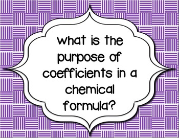 Guiding Questions for a Unit on Formulas, Equations & the