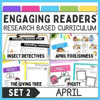 Guiding Readers: APRIL SET TWO NO PREP ELA Unit for K-1