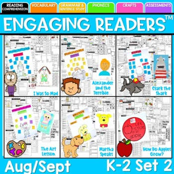 Reading Comprehension: Engaging Readers August September SET TWO