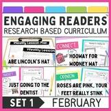 Reading Comprehension Guiding Readers February NO PREP ELA Unit for K-1