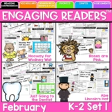 Reading Comprehension Engaging Readers February NO PREP ELA Unit for K-1