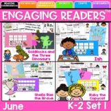 Reading Comprehension: Engaging Readers: JUNE NO PREP ELA Unit for K-1