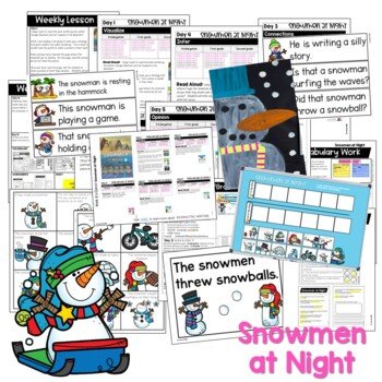 Reading Comprehension: Guiding Readers January  No Prep ELA unit for K-1