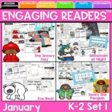 Reading Comprehension: Engaging Readers January  No Prep ELA unit for K-1