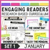 Reading Comprehension: Engaging Readers January  No Prep ELA unit for K-2