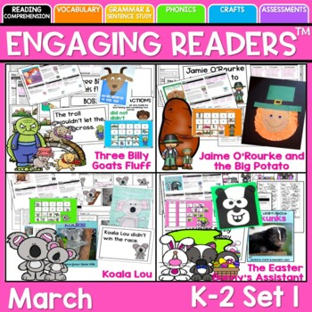 Reading Comprehension: Guiding Readers MARCH NO PREP ELA Unit for K-1