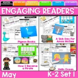 Guiding Readers: MAY NO PREP ELA Unit for K-1