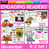Turkey Trouble & More! Reading Comprehension: Guiding Readers November
