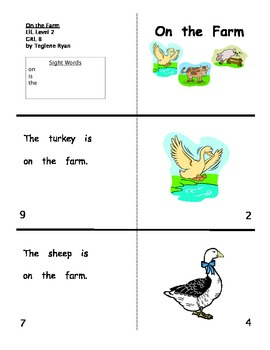 Guiding Reading Level B Sight Word Readers set with flash cards