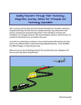Guiding Teachers Through Their Technology Integration Journey