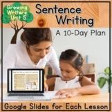 Guiding Writers: Sentence Writing (A Kindergarten Writing Unit)