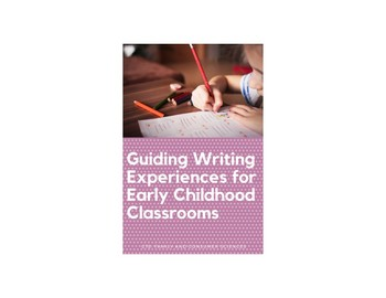 Guiding Writing Experiences