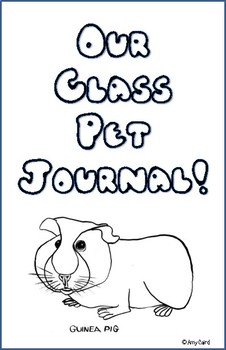 Guinea Pig Class Pet Journal